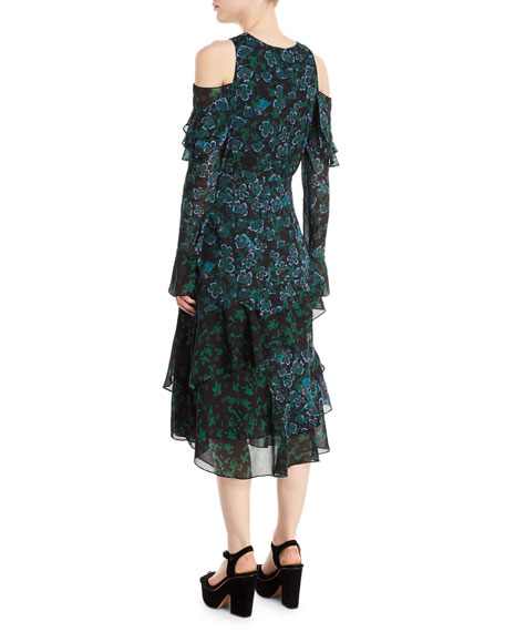 Floral Vines Althea Dress