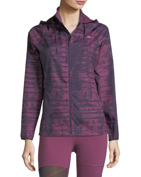 Rapida Zip-Front Hooded Performance Jacket