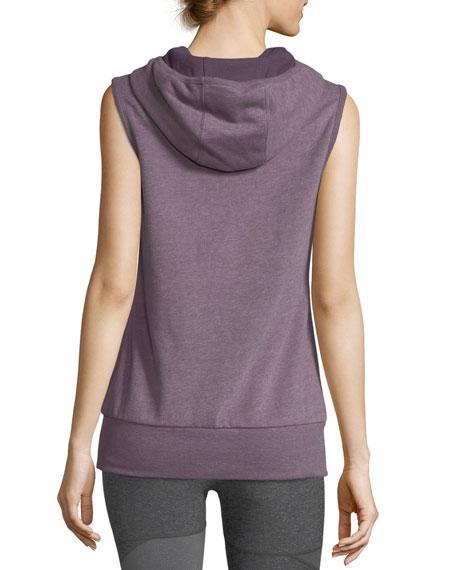 Avalon Hooded Heathered Vest
