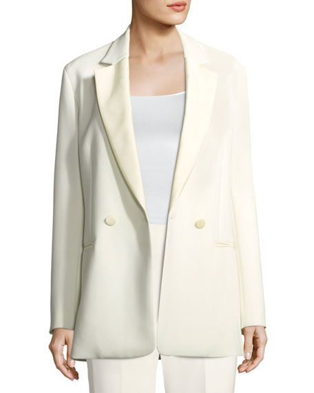Double-Breasted Oversized Blazer