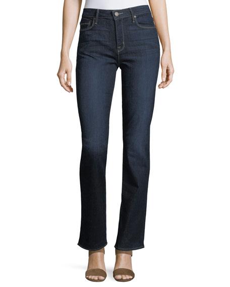 PARKER SMITH Bombshell Straight-Leg Jeans in Blue Steel