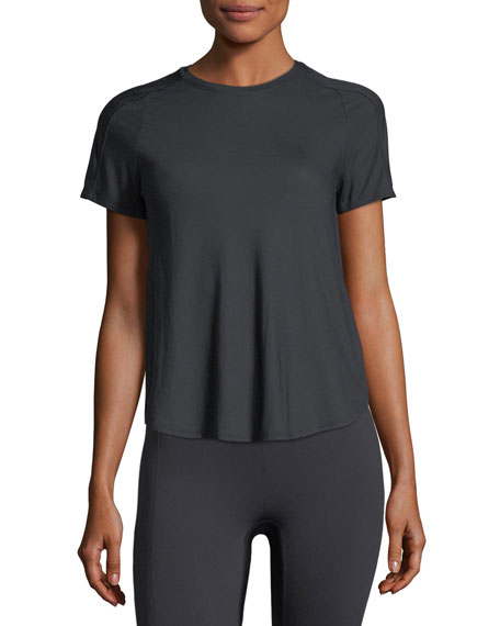 Breathe Short-Sleeve Performance Top