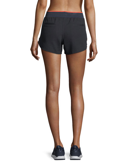 Midnight Crop Running Shorts