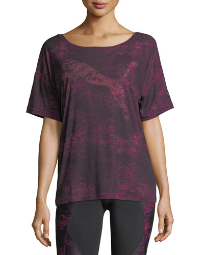 Dancer Drapey Performance Tee