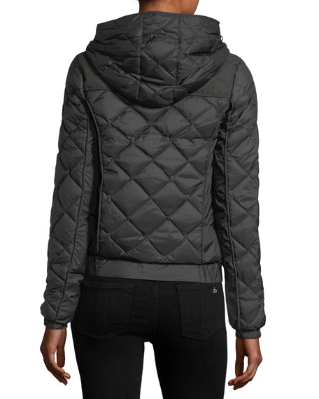 Elle Quilted Down Coat