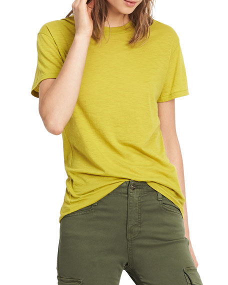 Pima Cotton Swing Tee