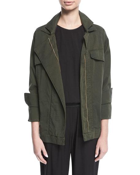 Oversized Twill Jacket