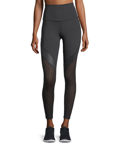 Perfect Angles High-Waist Midi Performance Leggings