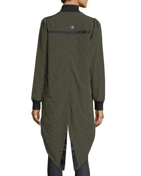 Tails Zip-Front Bomber Jacket