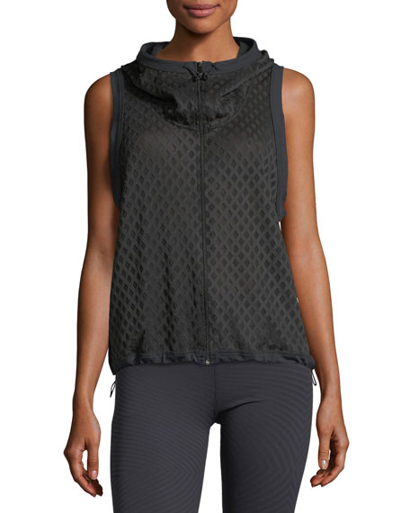 Crosshatch Zip-Front Performance Vest