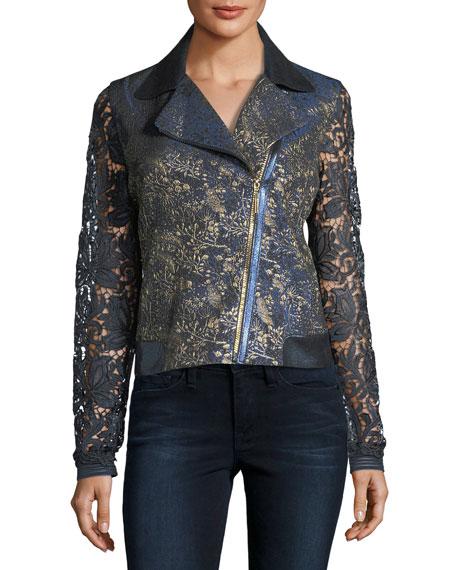 May Lace Moto Jacket