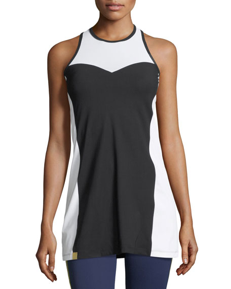 Champion Sleeveless Racerback Dress with Mesh