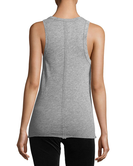 Lexi Crewneck Fitted Tank
