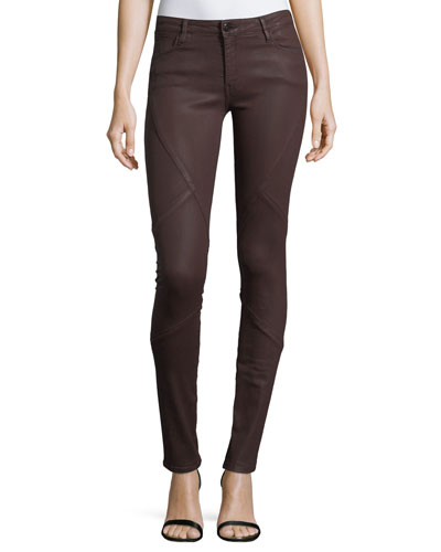 Waxpuzzle Mirror Mid-Rise Skinny Jeans