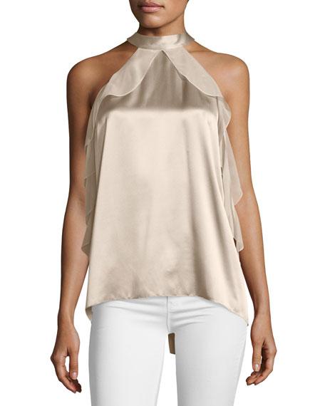 Renna Cold-Shoulder Blouse