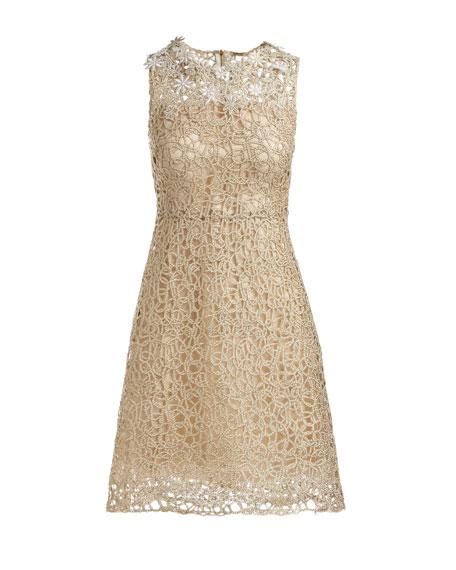Ophelia Sleeveless Lace Dress