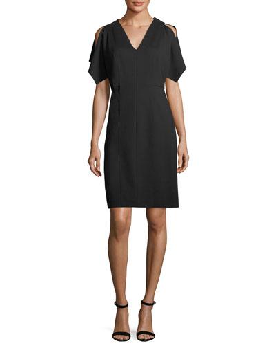Lourdes Cold-Shoulder Dress