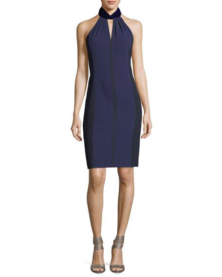Braxton Halter-Neck Cocktail Dress