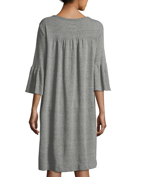 The Abigail Heathered Knit Dress