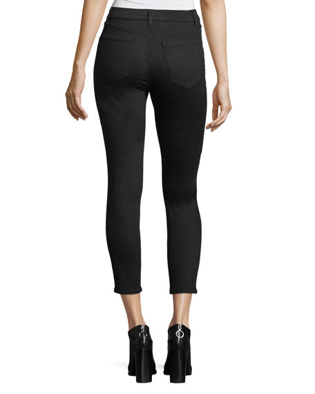 Alana Photo-Ready High-Rise Super Skinny Crop Jeans
