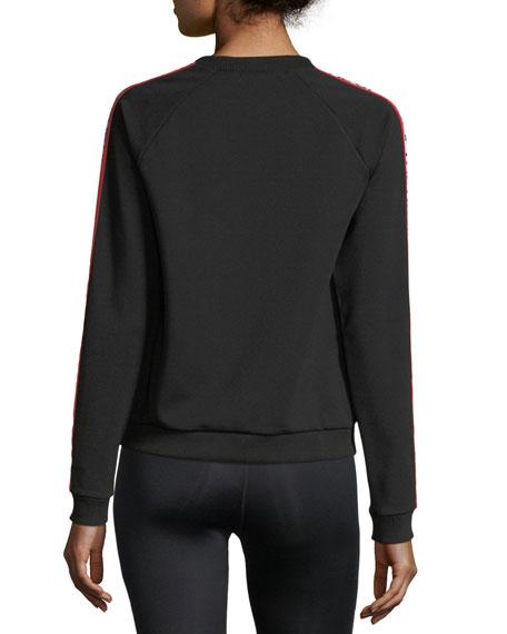 Star Bound Long-Sleeve Crewneck Sweatshirt