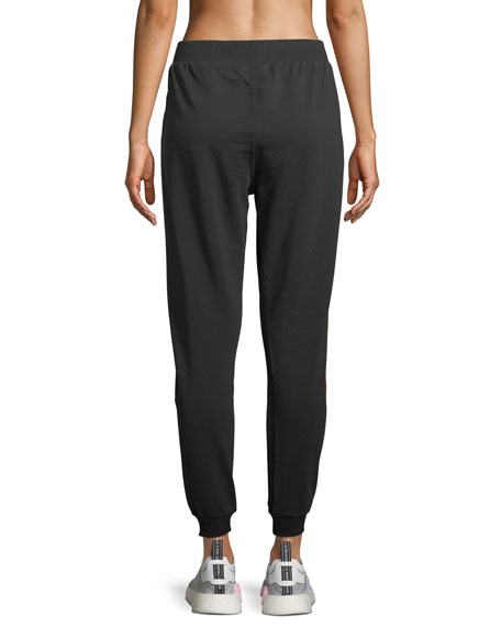 Star-Bound Jogger Pants, Black