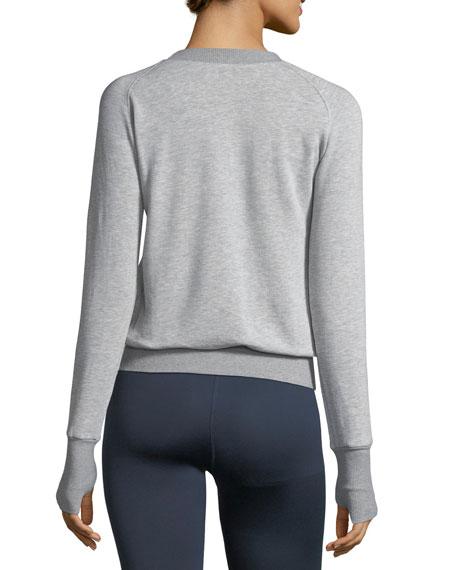 Boost Crewneck Raglan Sweatshirt