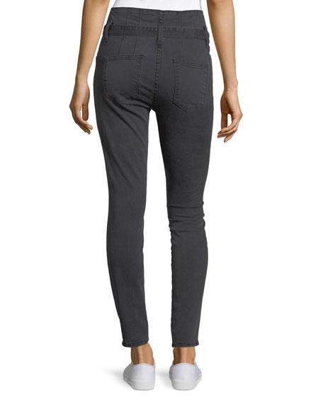 The Corset Stiletto Skinny-Leg Pants