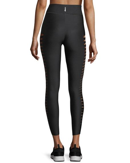 Ultra High Silky Slash Performance Leggings