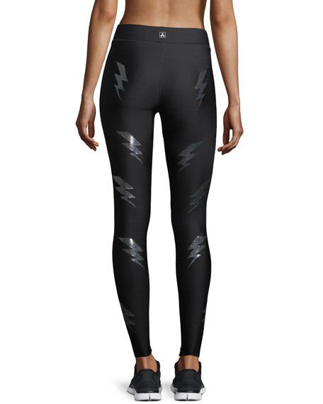 Ultra High Silky Bolt Performance Leggings