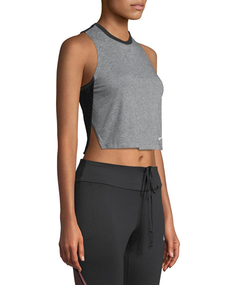 Breathe Cropped Training Tank