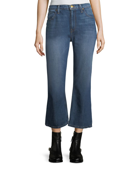 The Relaxed Nerd Crop Flare Jeans