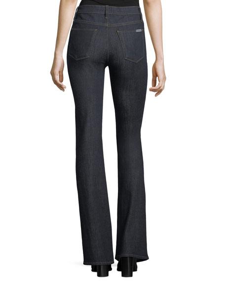 Drew Mid-Rise Boot-cut Jeans