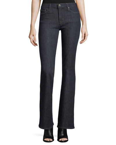 Drew Mid-Rise Boot-cut Jeans