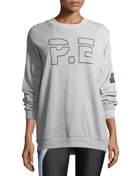 Heads Up Drop-Shoulder Logo Sweatshirt