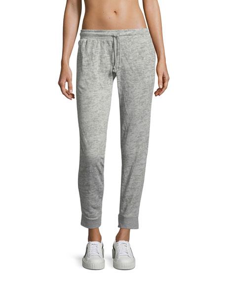 Varsity Skinny Heathered Jogger Pants