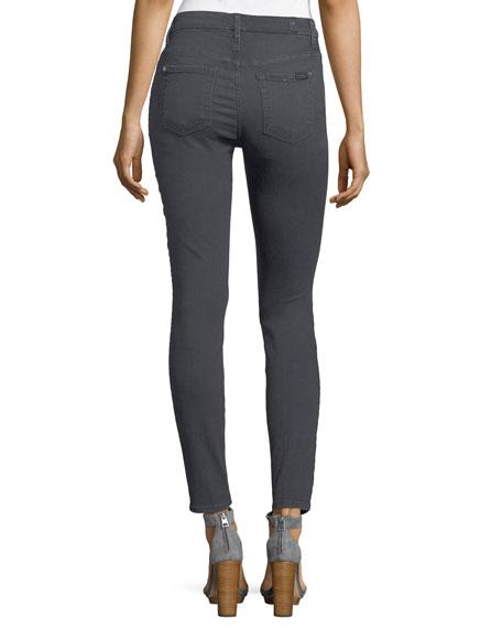 High-Rise Ankle Skinny-Leg Jeans