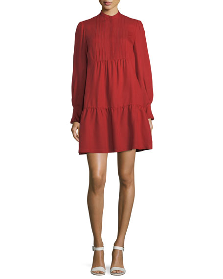 Jones Pleated Shirtdress