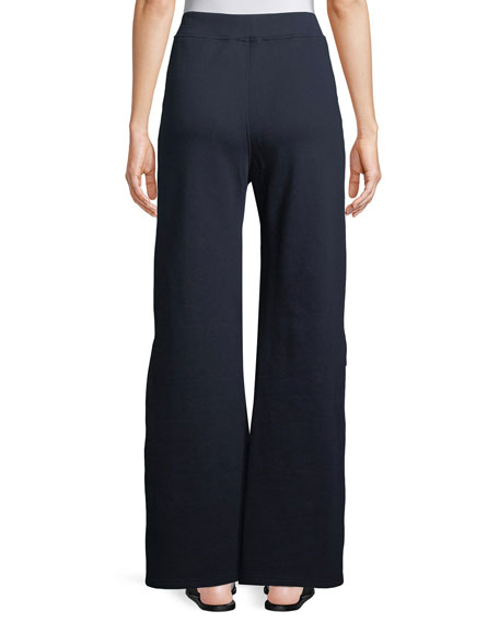 Side-Snap Fleece Trousers