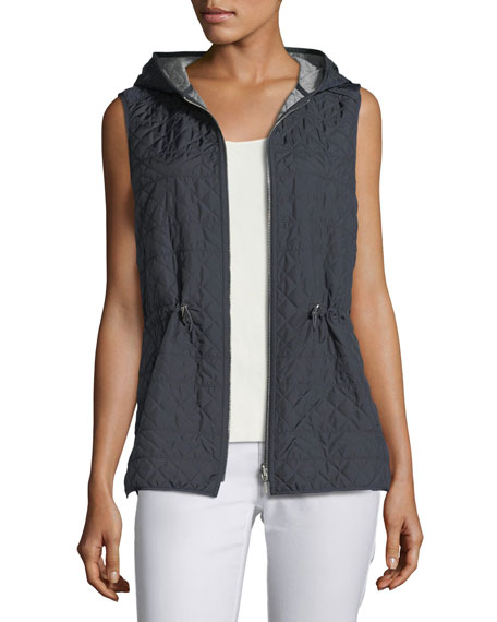 Alpine Outerwear Reversible Hooded Ginny Vest