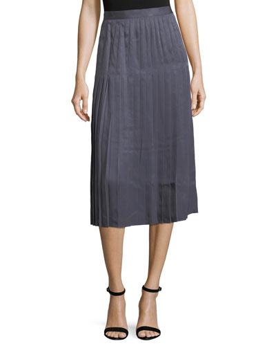 Sabilla Posh Twill Pleated Skirt