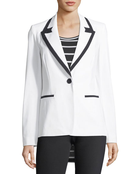 Delfino Fundamental Bi-Stretch Blazer