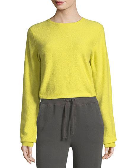 Classic Crewneck Long-Sleeve Sweater