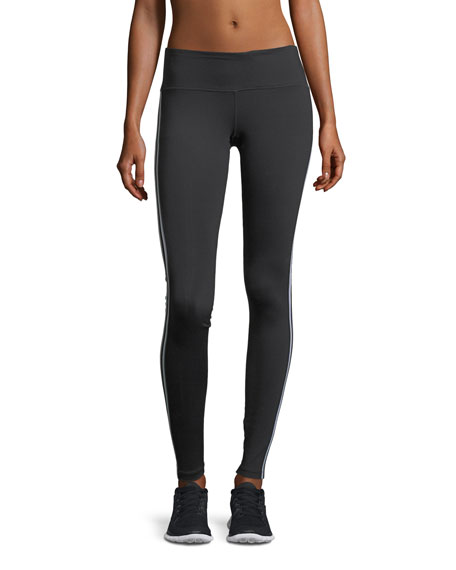 Athletic Stripe Full-Stripe Performance Leggings