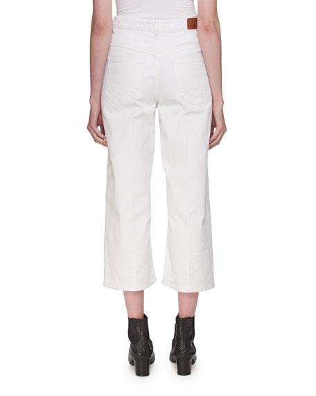 Cabrio High-Waist Wide-Leg Jeans