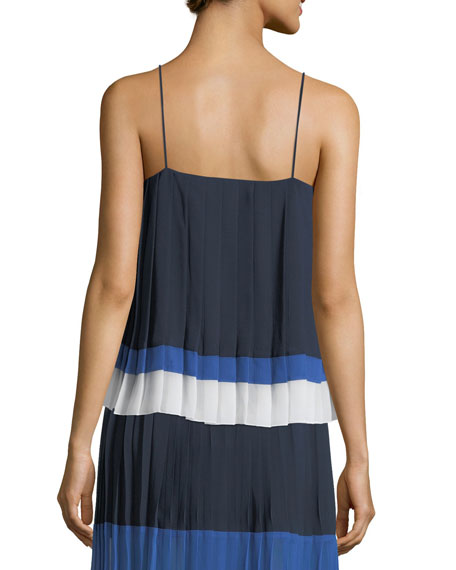 Amzie Pleated Camisole Top