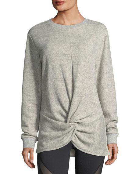 Farfalla Crewneck Heathered Sweatshirt
