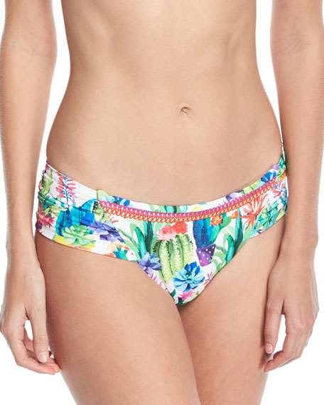 Cactus Charmer Hipster Swim Bikini Bottoms