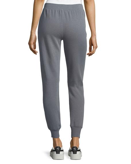 Slim Cuffed Pull-On Terry Sweatpants