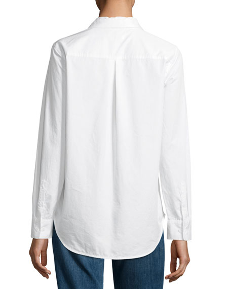 Essential Embroidered Cotton Shirt